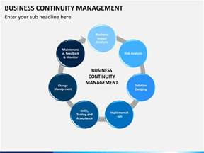 continuity template business continuity management powerpoint template