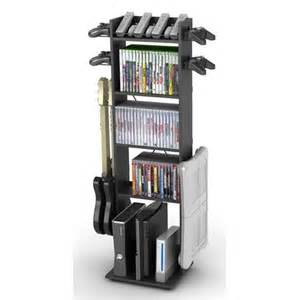 Video Game Rack Storage Video Game Storage For The Home Pinterest
