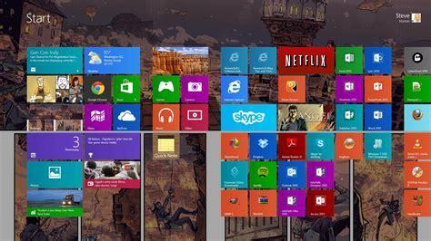 Use the same background on my Windows 8.1 desktop & Start