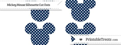 Mickey Small Navy Cp navy blue dotted pattern small mickey mouse silhouette cut outs printable treats
