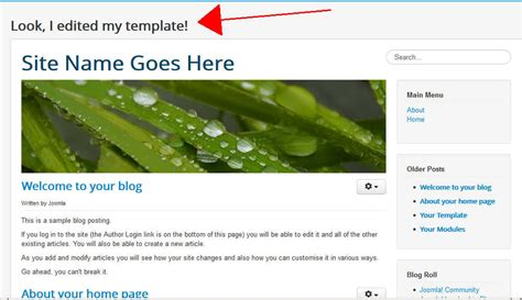 create joomla 3 template from scratch images templates