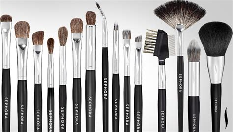 Brush Make Up Sephora sephora glossy
