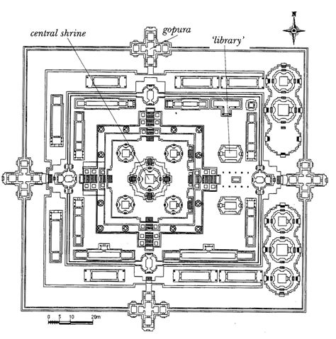buddhist temple floor plan 3 2 5 eastern religious architecture quadralectic