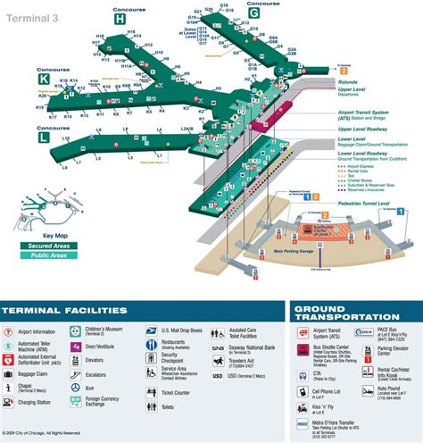 ord airport map o hare gate map chicago o hare airport gate map united