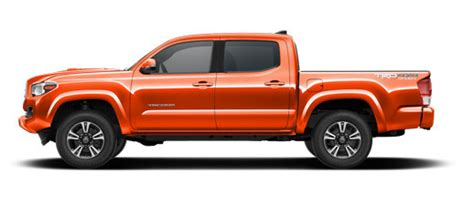 Sense Of Vanity 2017 Toyota Tacoma Features And Exterior Colors