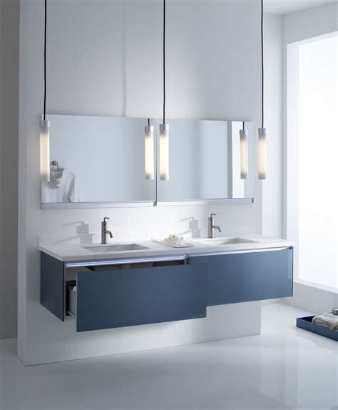 Glass Bathroom Furniture Changing The Bathroom Cabinets For A Completely New Look