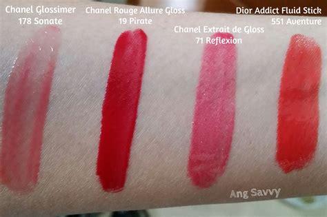 Lipgloss Chanel chanel gloss 19 pirate colour and shine