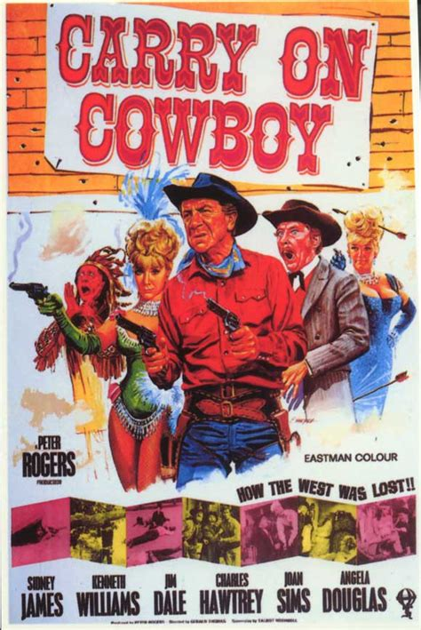 cowboy film collection carry on cowboy movie poster 1966 movie mania