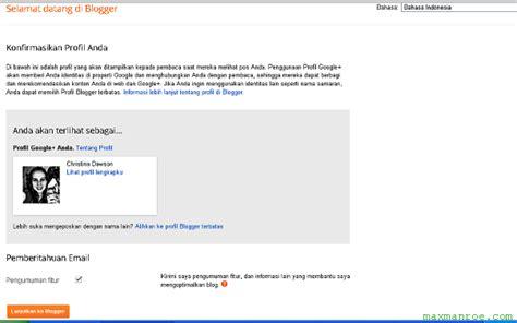 cara mudah membuat blog gratis blogspot cara cepat membuat blog gratis keren tutorial software