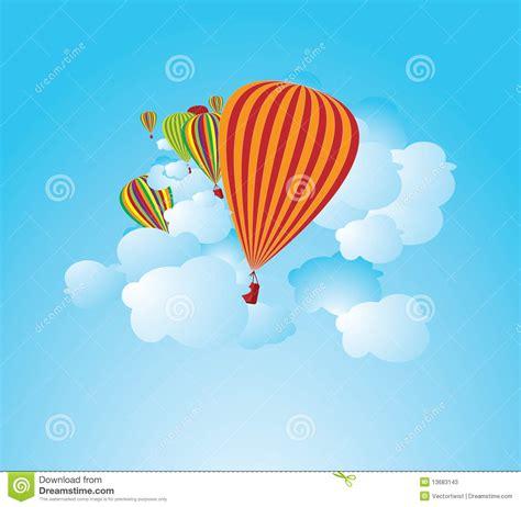 illustrator tutorial hot air balloon hot air balloons illustration stock photos image 13683143