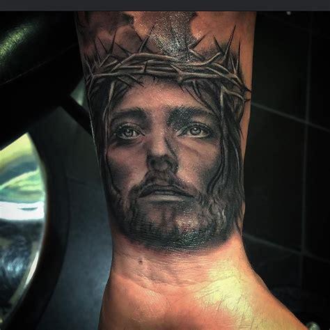 jesus face tattoo design jesus tattoos for the faith sacrifices and strength