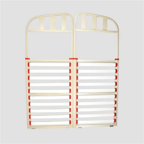 caravan bed frame aluminium double split head