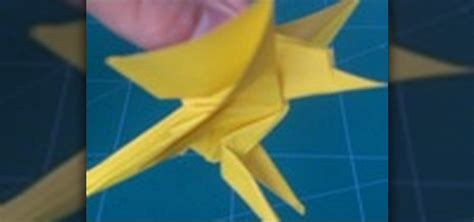Origami In Flight - how to fold an origami bird in flight with aeric 171 origami