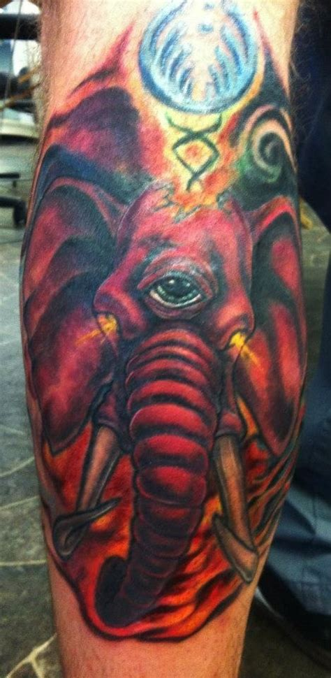pink elephant tattoo reviews bassnectar pink elephant tattoos truthinktattoos