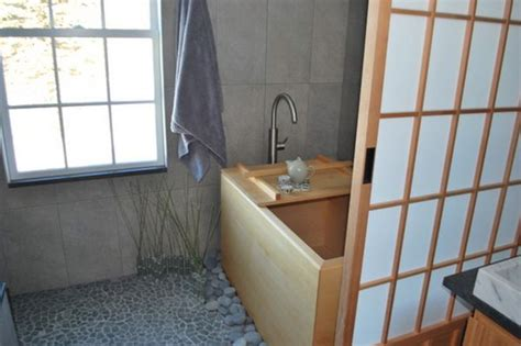 Japanese Shower Soaking Japanese Bathtubs Turn The Bathroom Into A Spa