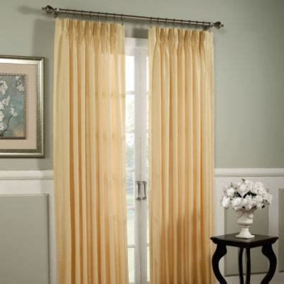 argentina curtains bed bath and beyond argentina pinch pleat back tab interlined window curtain