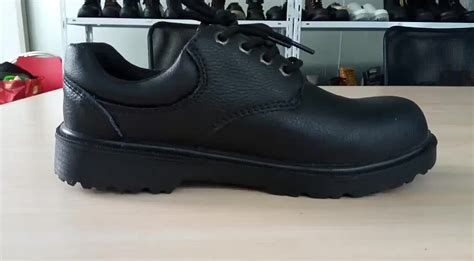 s3 leather anti puncture high heel safety shoes