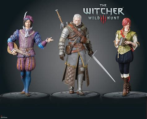 witcher 3 figure fair 2017 deluxe expands the witcher 3