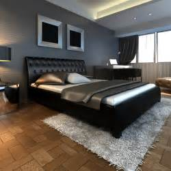 la boutique en ligne luxueux lit en similicuir 180 x 200