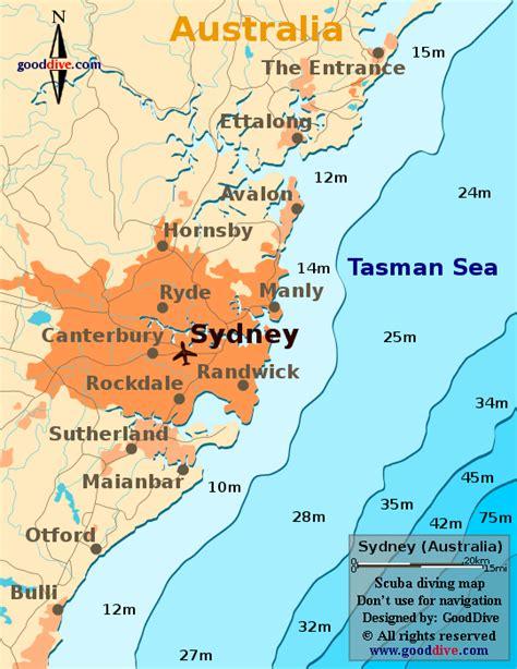 sidney australia map sydney map goodive