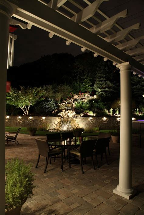 lighting landscape lighting island