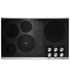 downdraft cooktop ventilation 36 quot electric downdraft cooktop with 5 elements kced606gss