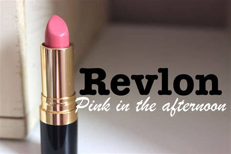 Revlon Lipstick Pink In The Afternoon 30in30 revlon pink in the afternoon mikhila
