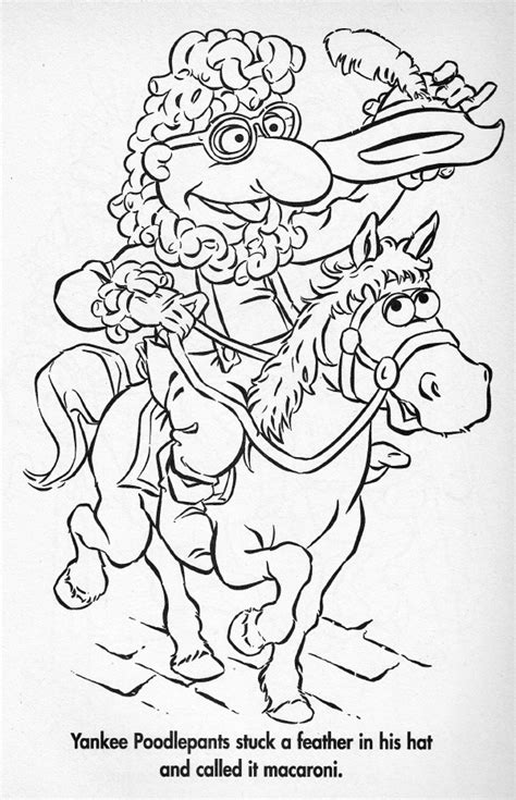pin yankee doodle coloring page on pinterest