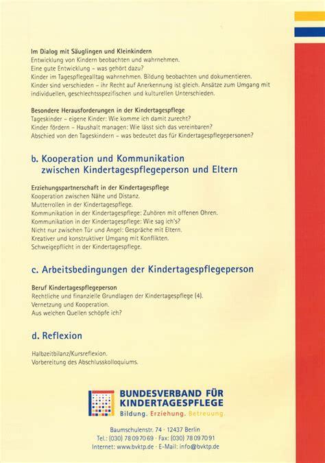 Anschreiben Erst Meine Adrebe Pflegeerlaubnis Tagespflege F 252 R Kinder Antje Kraft Siegen