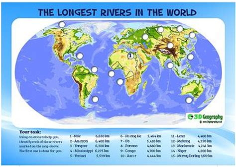 5 major rivers world map 03 03 15 our atlas work world rivers