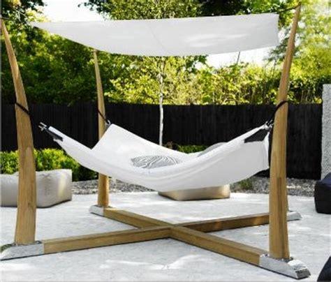 4 Post Hammock modern hammock hang architecture garden beachhouses
