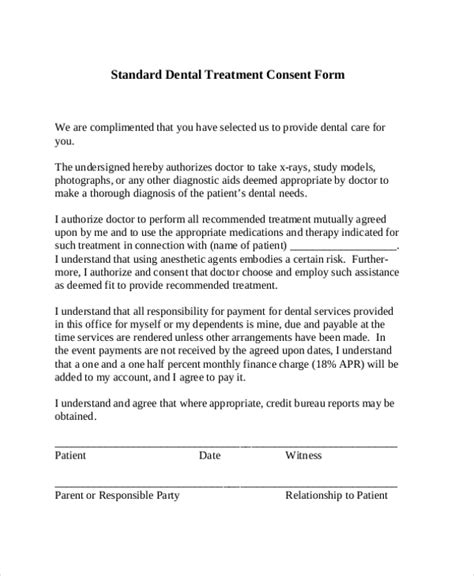 consent to treat form template consent form for dental treatment driverlayer search engine