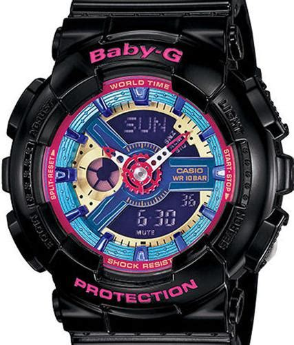 Baby G Casio Dg 120 Blue baby g black pink purple blue ba112 1acr casio baby g