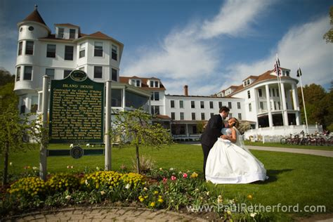 Island House Wedding Photographer Mackinac Island Michigan Northern Michigan