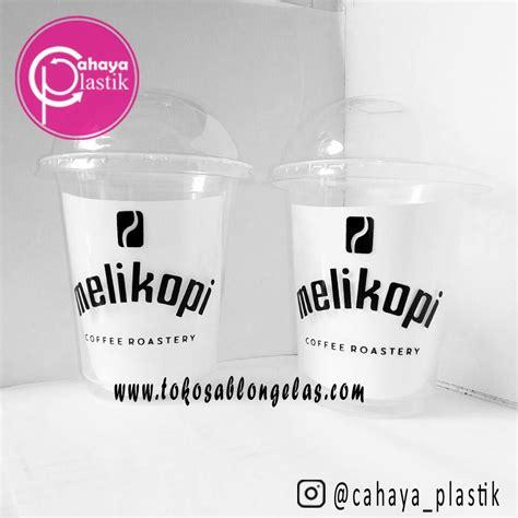 Coffee Taste Malang Harga jual sablon gelas plastik 12 oz 7 gram cup coffee harga