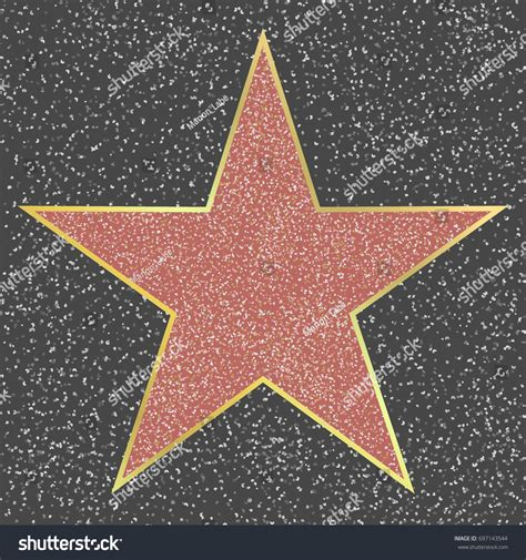 free printable hollywood star walk fame hollywood boulevard celebrity star stock vector