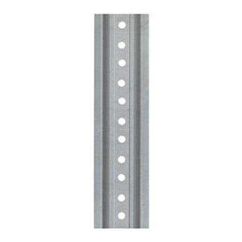 tapco 054 00024 steel u channel sign post, 12' length