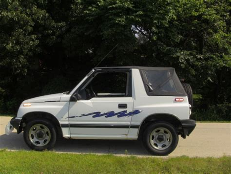 1994 chevy tracker 1994 chevy geo tracker 122500 for sale in medinah