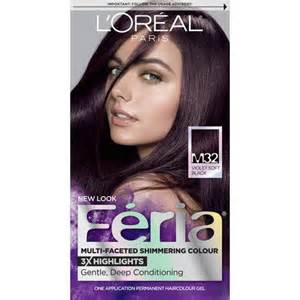 loreal feria hair color l oreal feria midnight collection hair color