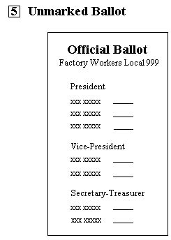 ballot cards template 28 images of slate for voting ballot template tonibest