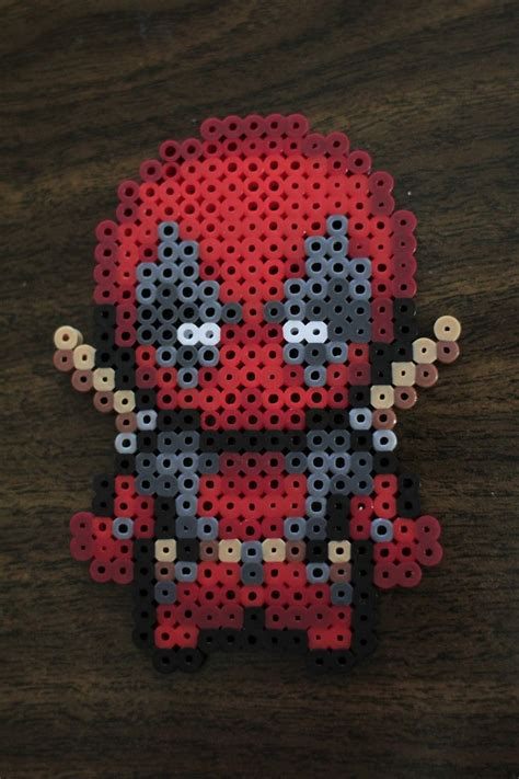 how to fuse perler perler and artkal fuse bead deadpool by pkmnmastertash