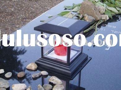 solar cemetery vigil lights solar memorial light solar powered vigil light solar led