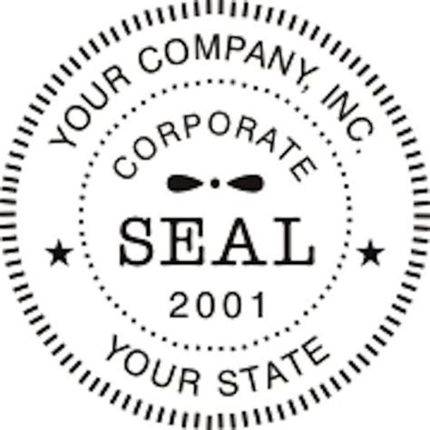 Business Seal Template