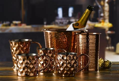 bar ware expanded range of copper barware is much more than a
