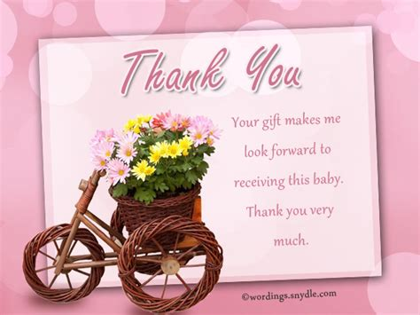thank you notes for gifts wordings and messages
