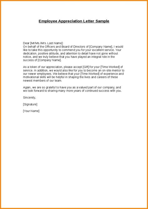appreciation letter for giving thanks giving letter sle letters free sle letters