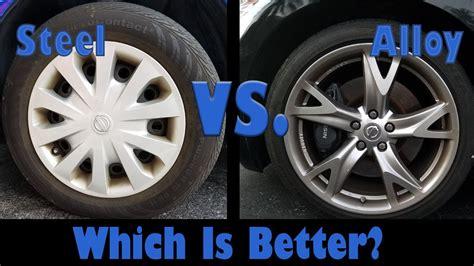 steel wheels  alloy wheels    segment episode  youtube