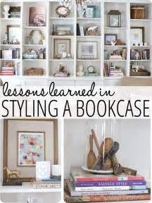 how to decorate a bookcase lessons learned in styling a bookcase finding home farms