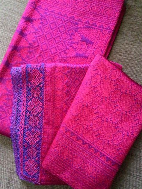 Kain Songket Tenun Mesinsongket Motif Semi Palembang 27 best images about tenun on traditional islands and weaving