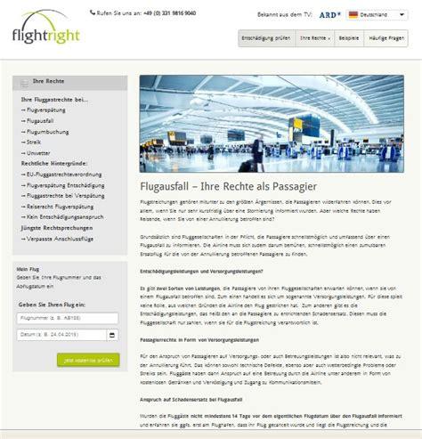 Musterschreiben Entsch Digung Flugausfall Eu Fluggastrechte Entsch 228 Digung Bei Versp 228 Tungen